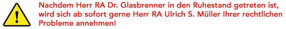 Rechtsanwalt in Schwabach und Gilching
